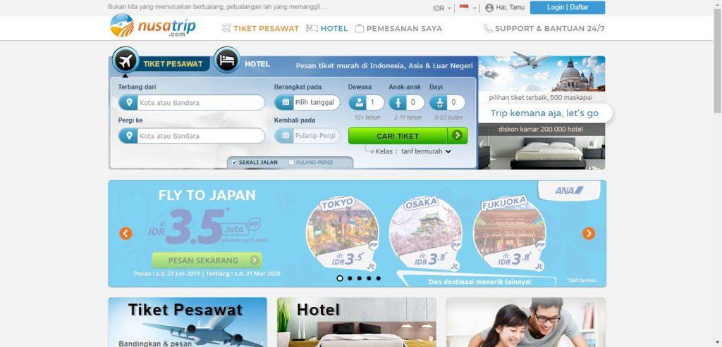Ini Dia 9 Website Booking Tiket Pesawat Untuk Kamu Yang Mau